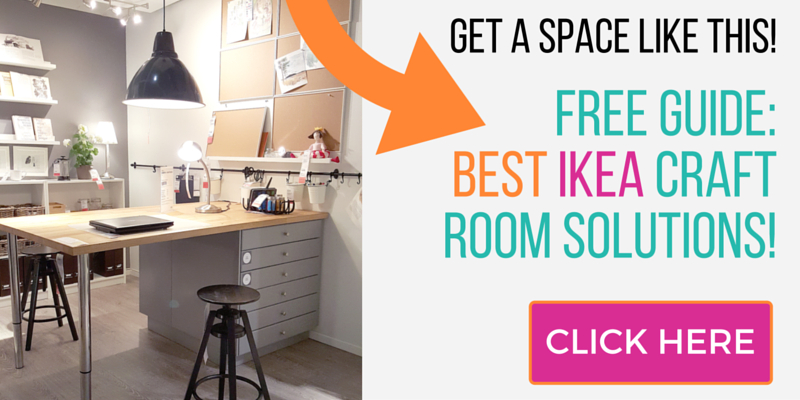 CLICK HERE To Get Our Ikea Craft Rooms Guide To Help You Design The Craft  Room