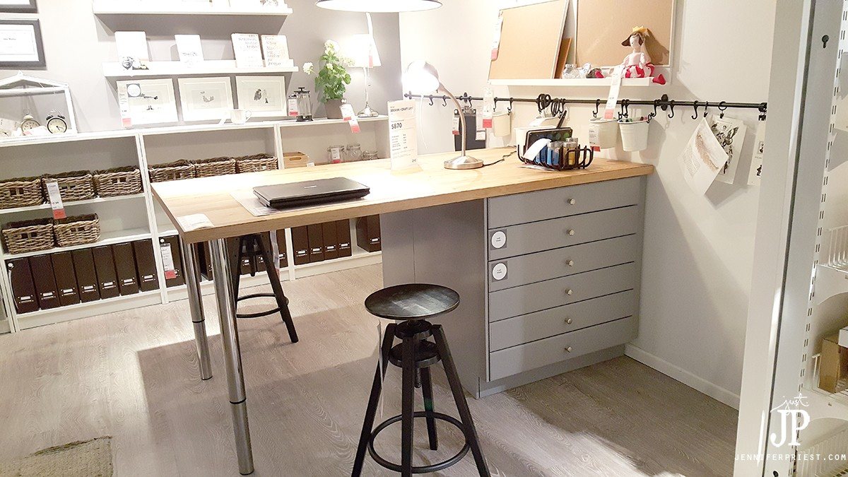 Ikea Craft Rooms - 10 Organizing Ideas from REAL Ikea Craft Rooms