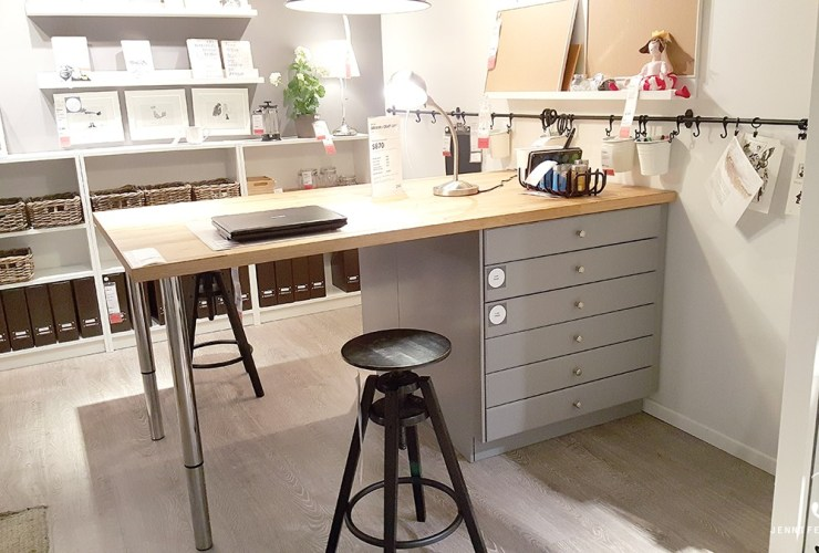 Ikea Craft Rooms – 10 Organizing Ideas from REAL Ikea Craft Rooms