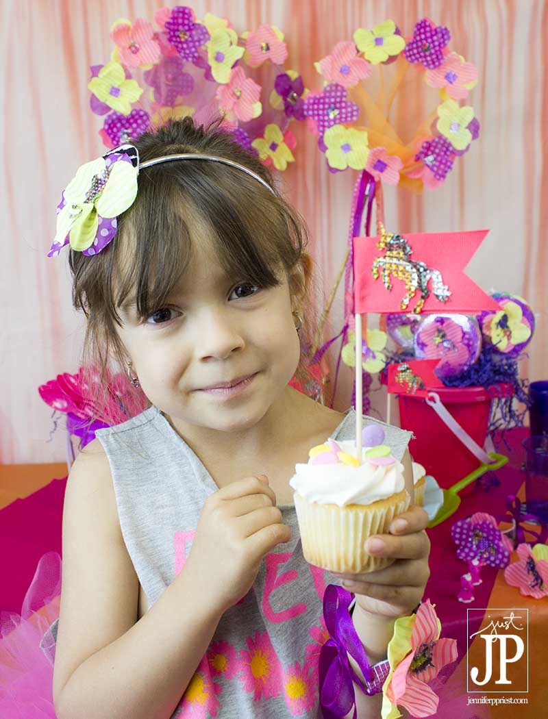 Unicorn Party Cupcake Toppers KIRA JPriest
