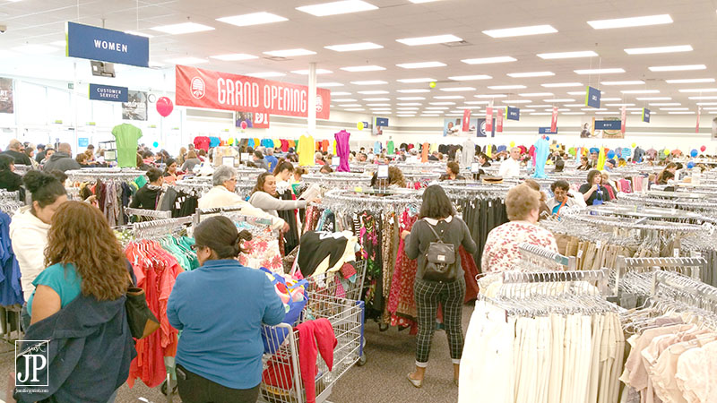 With over 40000 items, the new Deseret Industries Fontana is a huge thrift shop!