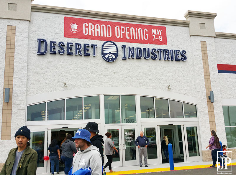 New Deseret Industries location in Fontana, CA