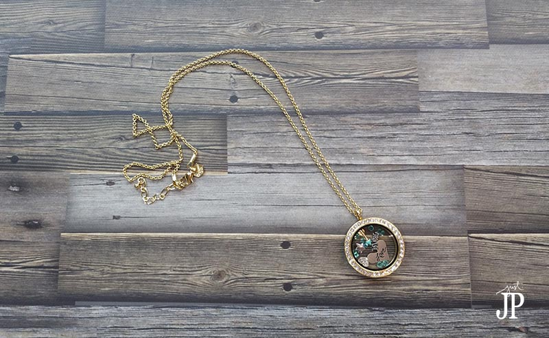 Gold Origami Owl Living Locket - JPriest