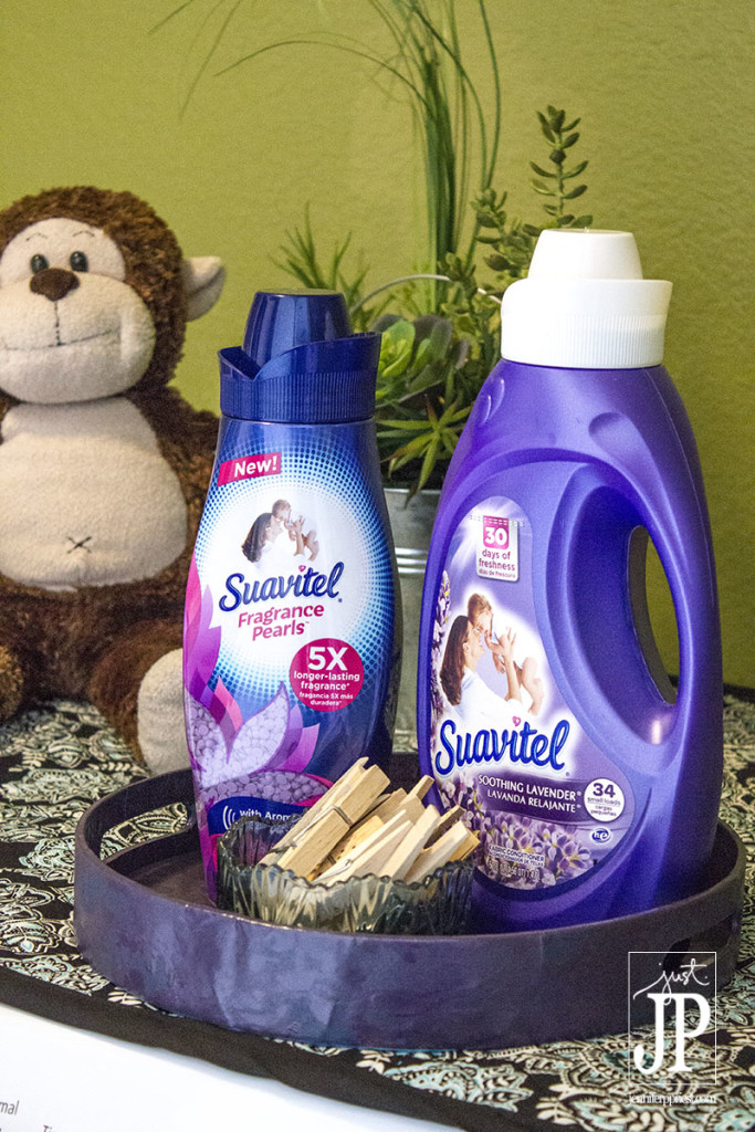 Make Suavitel a part of your laundry routine for long lasting scent on fabrics.