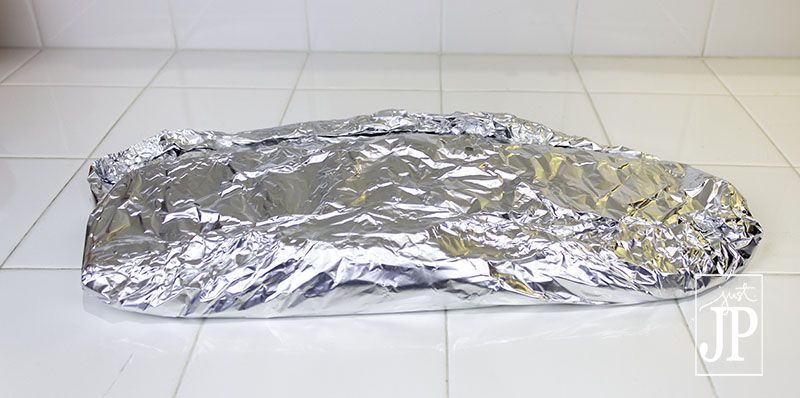 Wrap ribs in foil before putting on the grill JPriest