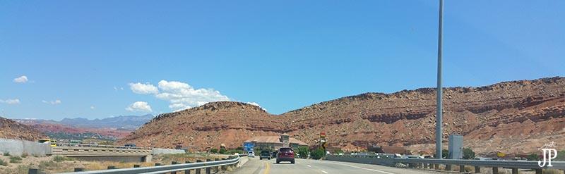 Arizona Sky on California to UTAH Road Trip Just JP JPriest