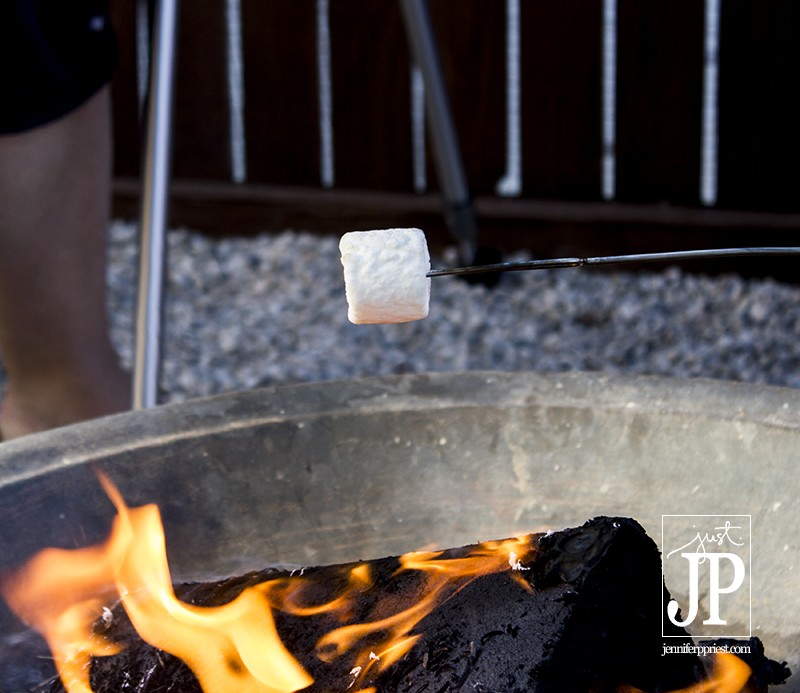 How to toast a marshamllow for smores - JPriest