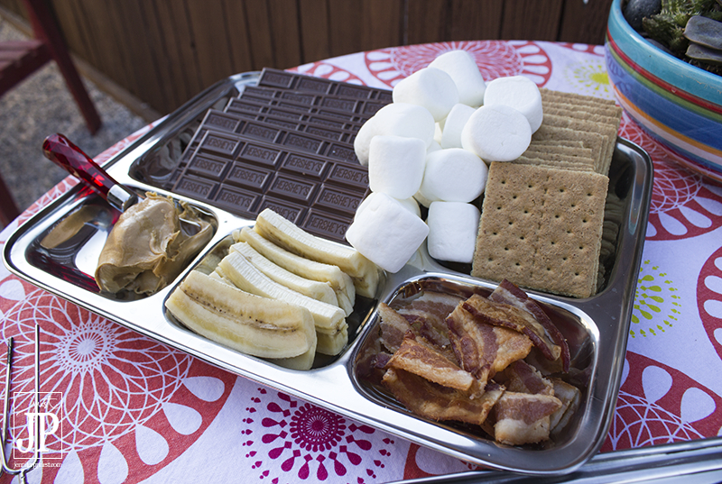 Ingredients for Elvis Smores - JPriest