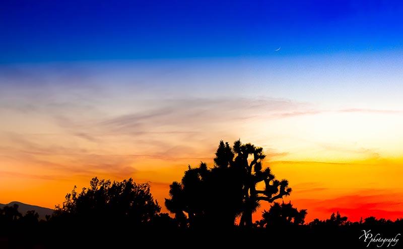 Sunset in Phelan Xaver Priest SM