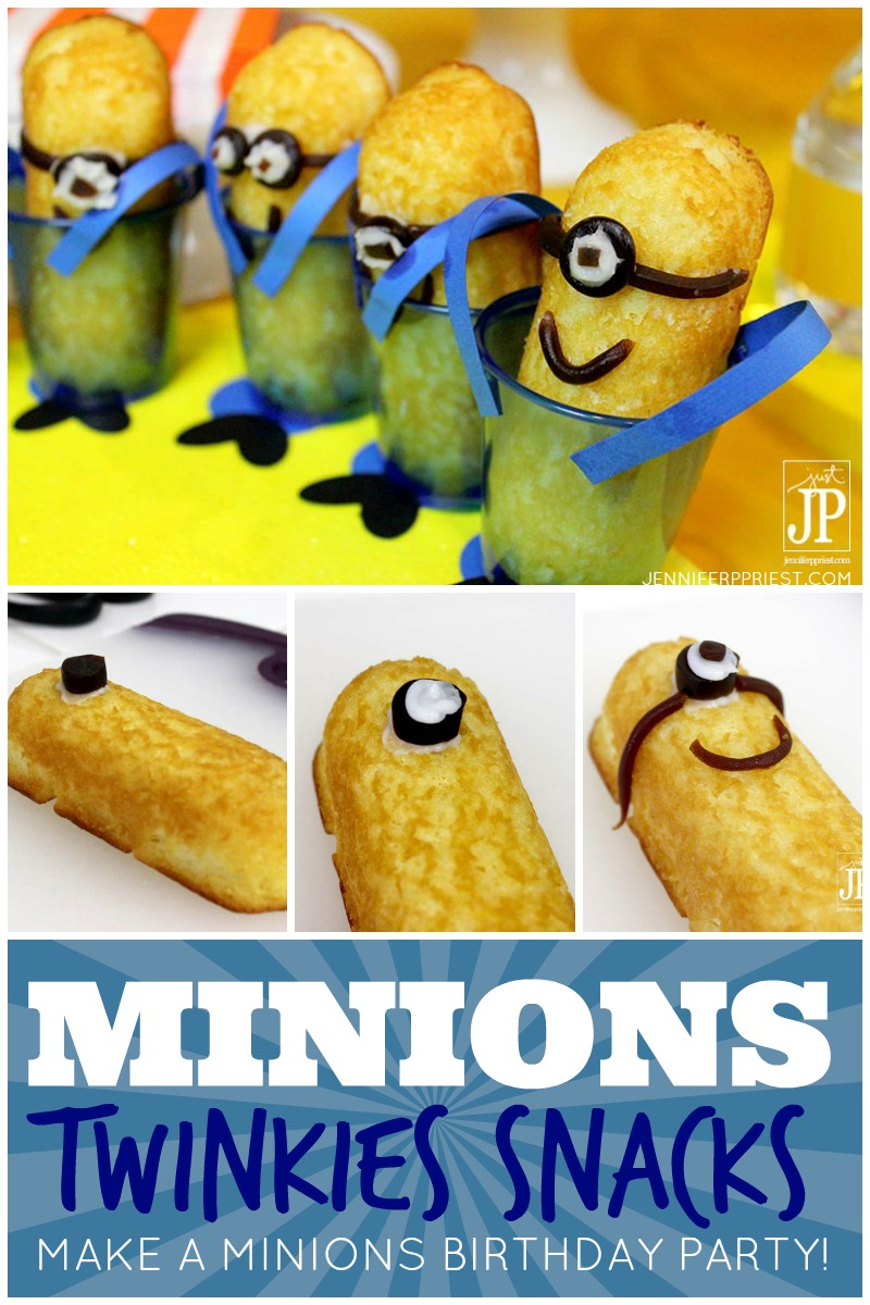 mINIONS tWINKIES FOR pARTY JPriest