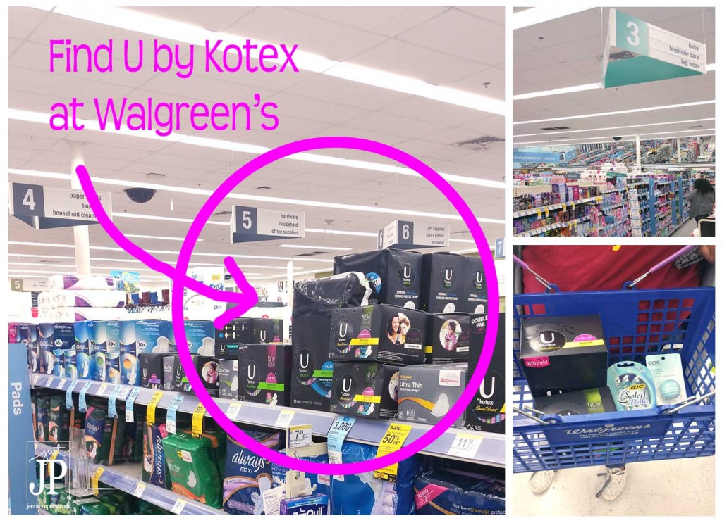 Get back to school supplies and essential personal care items like Kotex at Walgreens this fall