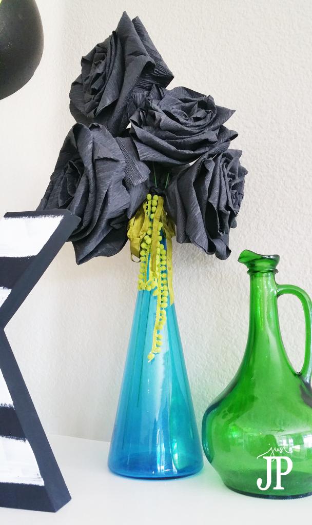 Giant-Black-Crepe-Paper-Roses-DIY-Halloween-Decor-JPriest-Darice