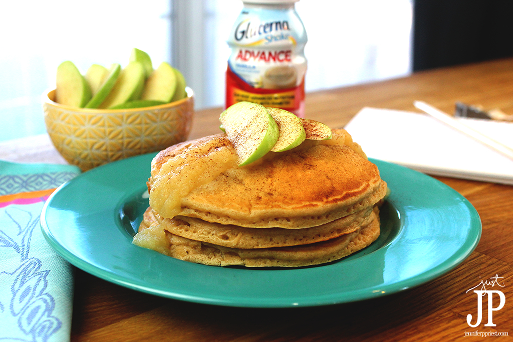 Glucerna-Apple-Cinnamon-Pancakes