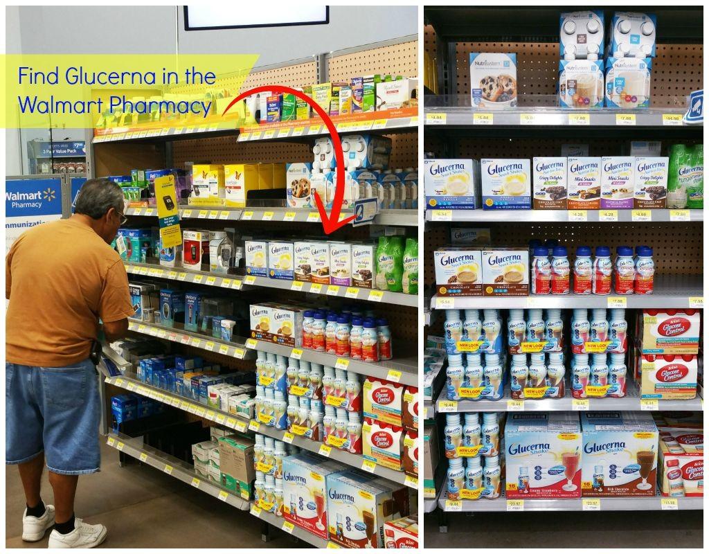 Glucerna in Walmart Pharmacy