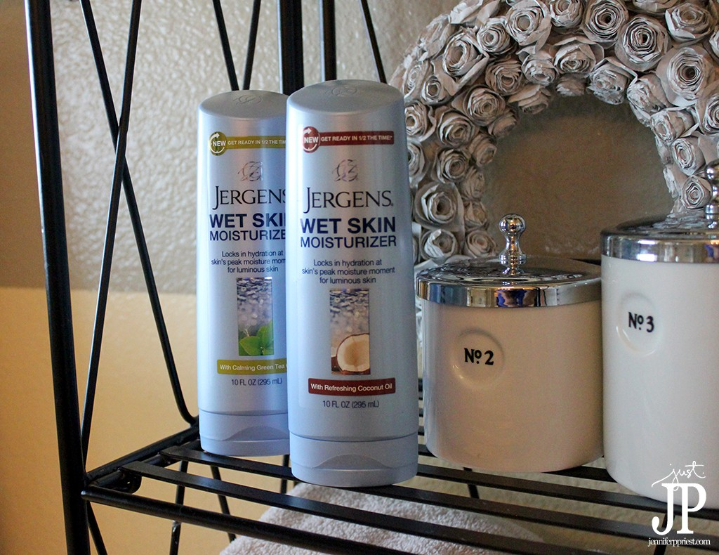 Keep Jergens Wet Skin Moisturizer by the Shower - Jpriest