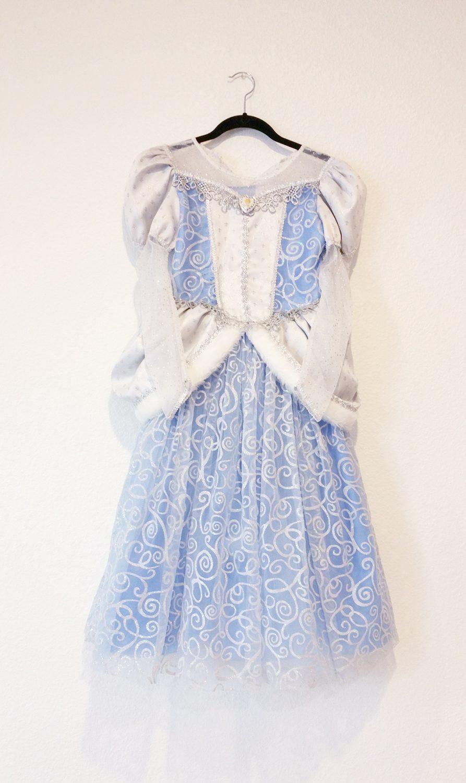 Cinderella Halloween Costume Repaired