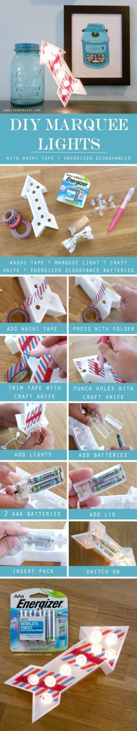 DIY-Marquee-Letters-with-Washi-Tape-Energizer-EcoAdvance-TUTORIAL-JPriest