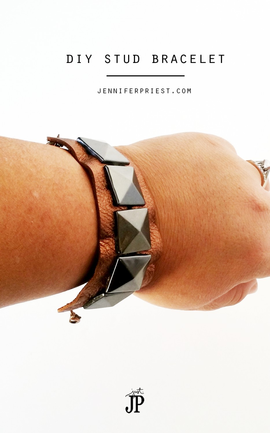 Stud-Bracelet-with-Leather-JPriest-JPHalloween-MAIN
