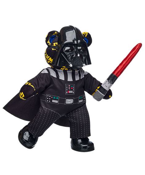 BABW Star Wars Bear Darth Vader with Sword