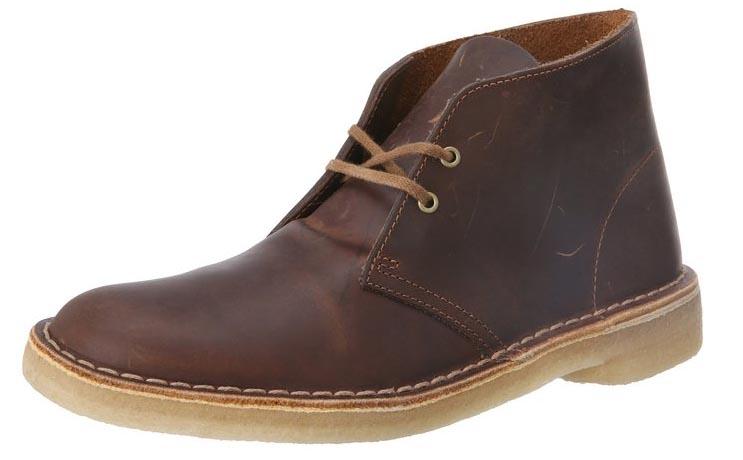 Clarks beeswax desert boot