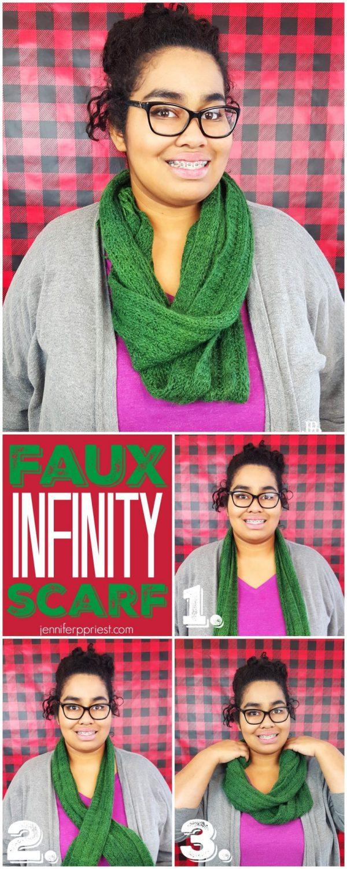 Faux Infinity Scarf JPriest