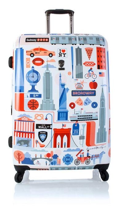 HEYS NYC Luggage hardsides