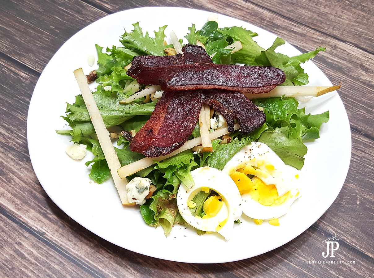 Paleo-Duck-Bacon-Salad-Dartagnan-Foods-Hepps-Salt-Co-Massey-Honey-Co-JPriest