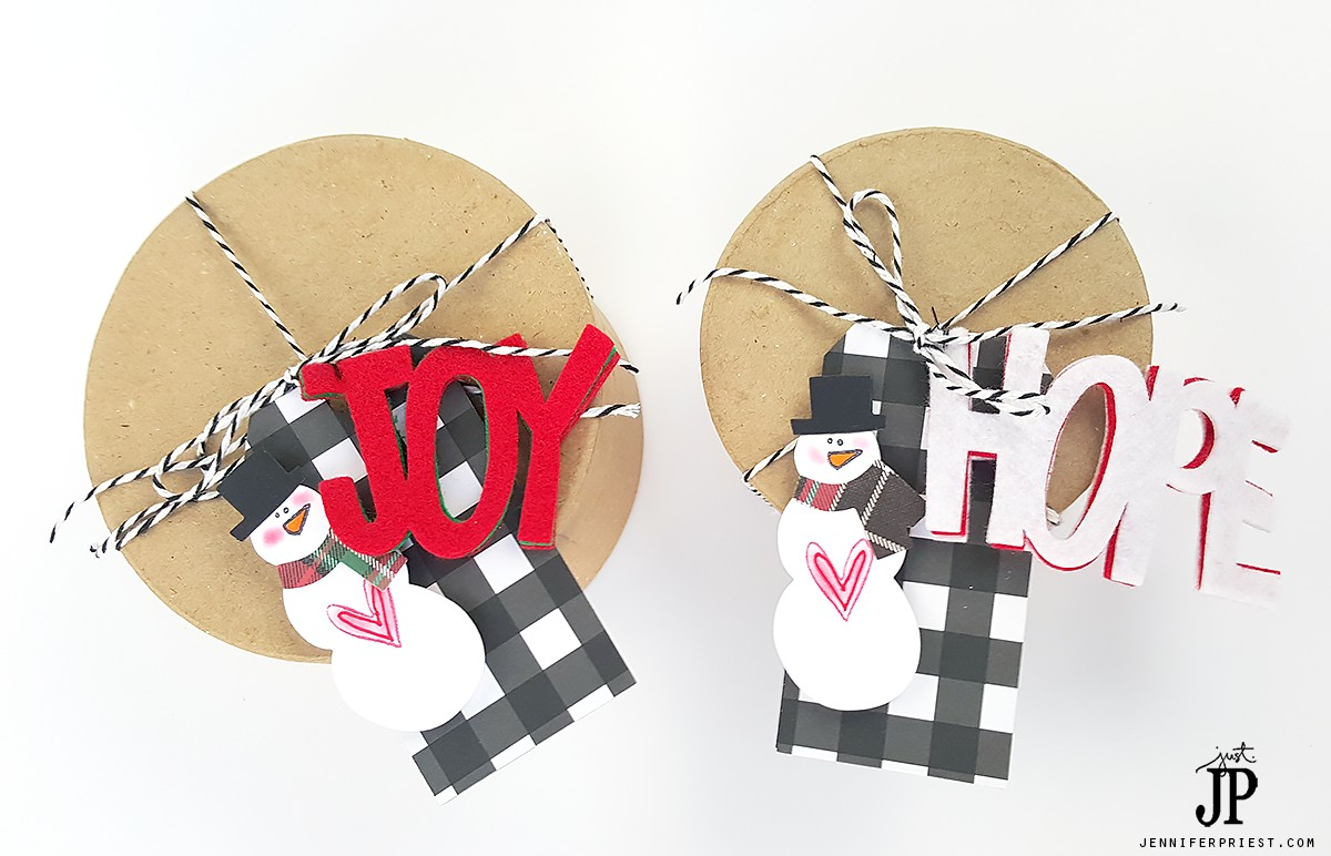 Paper-Mache-Box-Gift-Wrap-with-Felt-Die-Cut-Tags-Christmas-JPriest