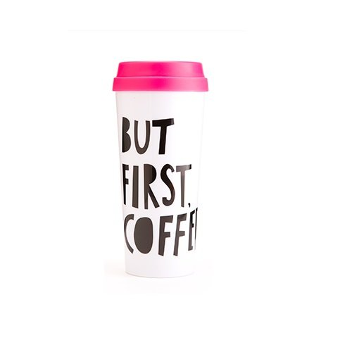 bando but first cofee thermal travel mug