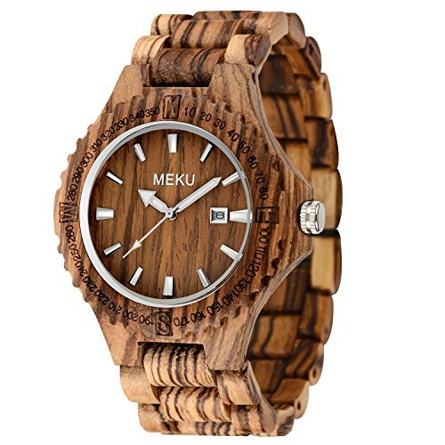 meku wood watch