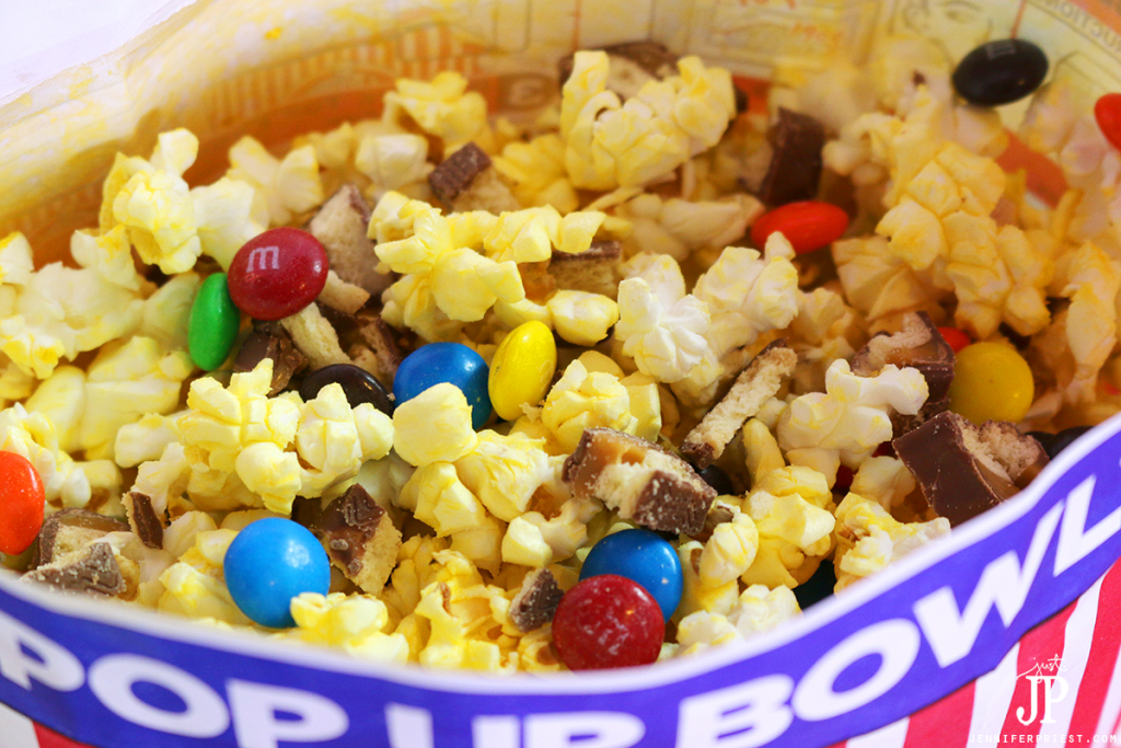 Genius idea! Add M&M'S® Chocolate Candies and chopped candy bars to microwave popcorn for a decadent movie night treat!