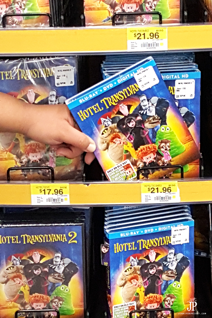 Find Hotel Transylvania 2 on DVD at your local Walmart. Make it a movie night!