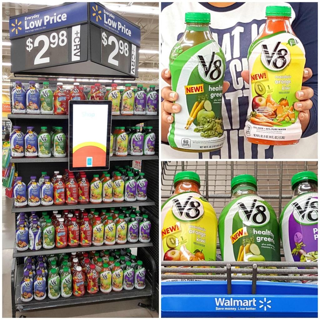 Find V8 Veggie Blends at Walmart