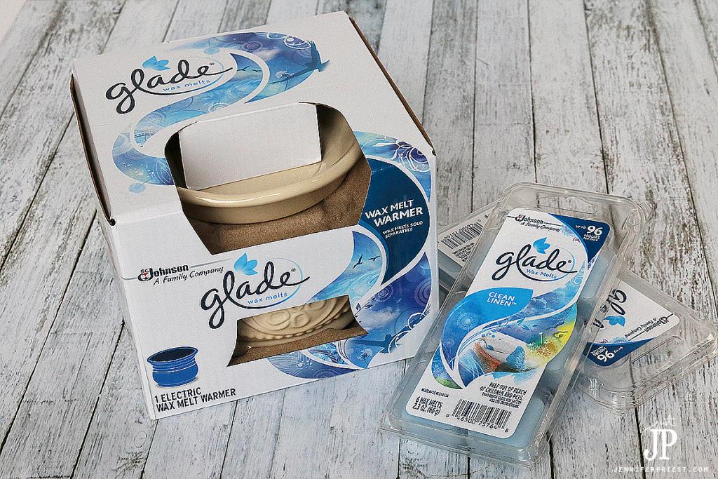 NEW-Glade-Wax-Melts-Clean-Linen-JustJP
