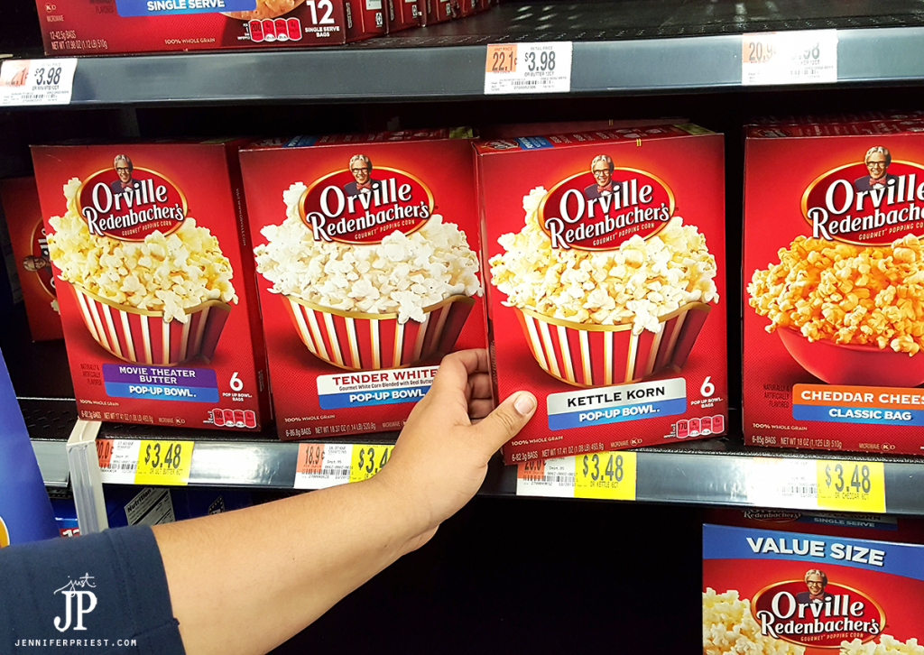 Find Orville Redenbacher popcorn at Walmart