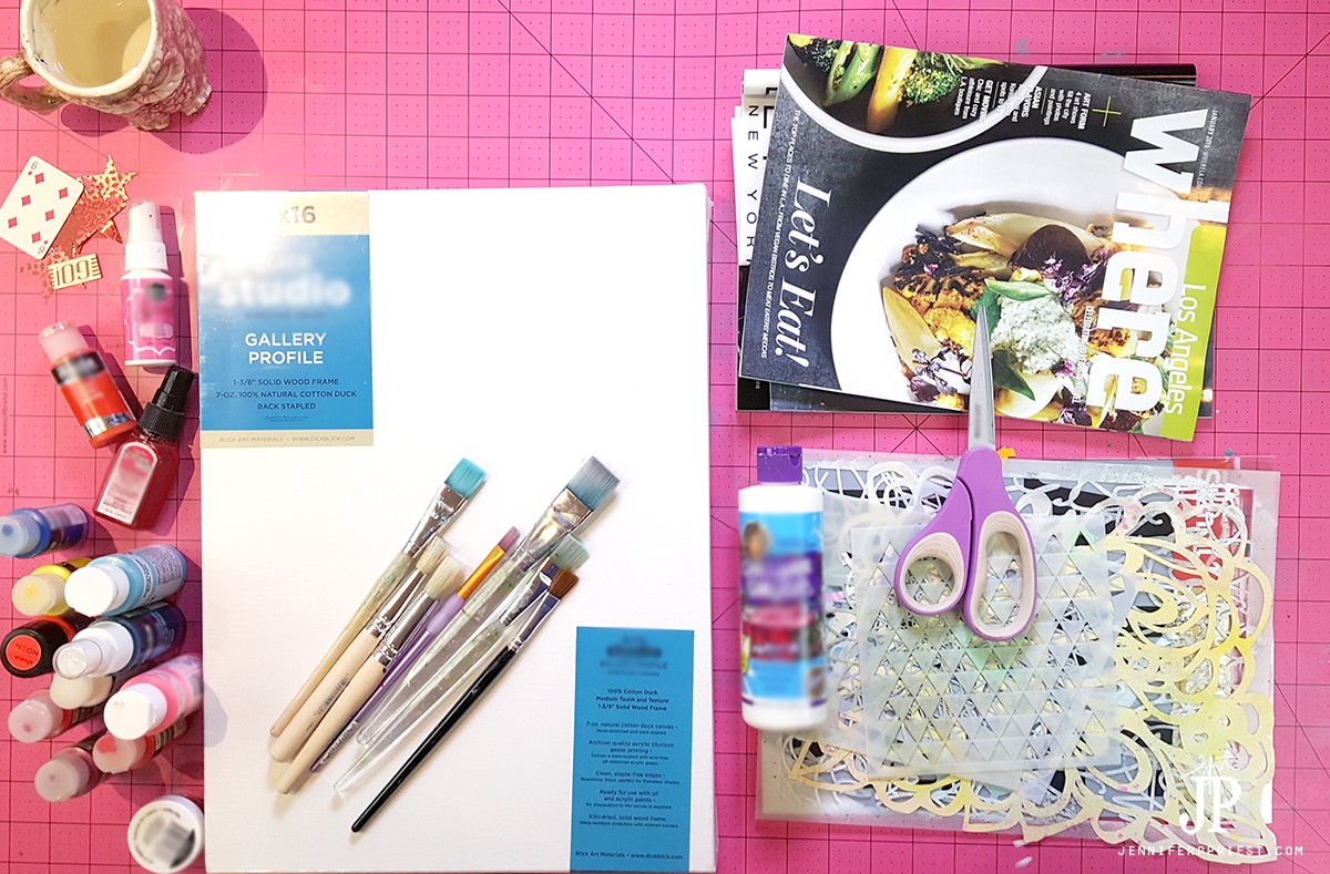 Mixed-Media-Canvas-VISION-BOARD-Supplies-JustJP-jenniferppriest