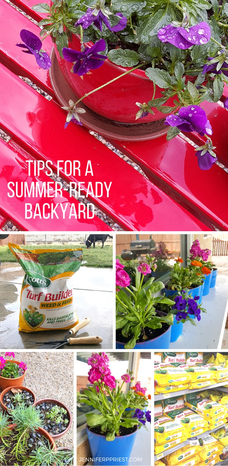 Tips for Summer Ready Backyard by Jenniferppriest