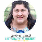 Jennifer Priest has some of the best craft ideas on her site Just JP and previously, Hydrangea Hippo. She shares tons of free tutorials and YouTube videos showing all kinds of crafts and DIY.