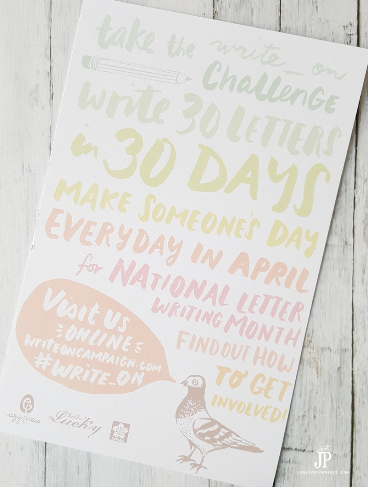 national letter writing month write 30 letters in 30 days in april national letter 23752