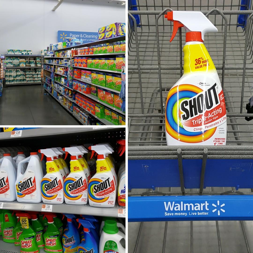 Shout at Walmart