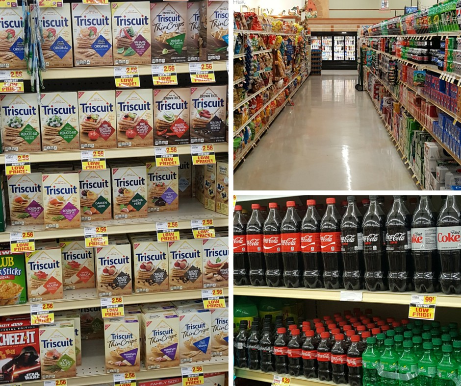 Triscuit and Coca-Cola in Stater Bros