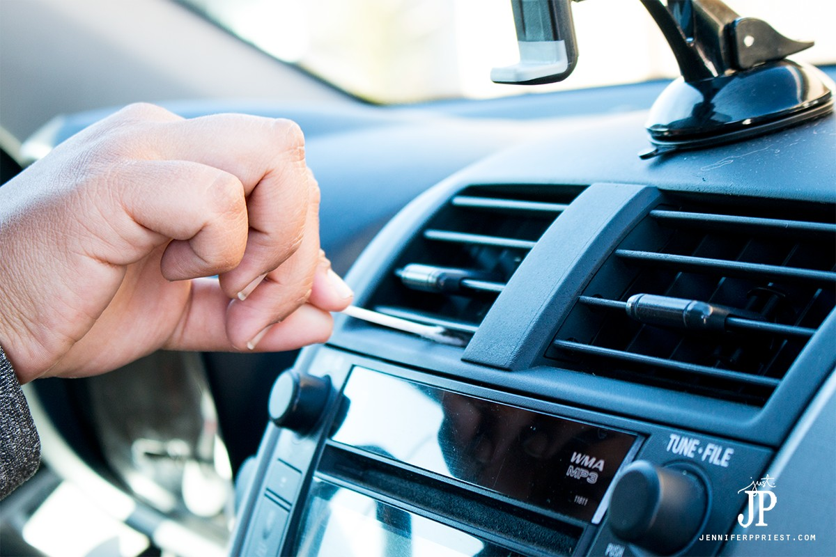 Use-Cotton-Swabs-to-Clean-Air-Vents-in-Cabin---Car-Care-Jennifer-Priest