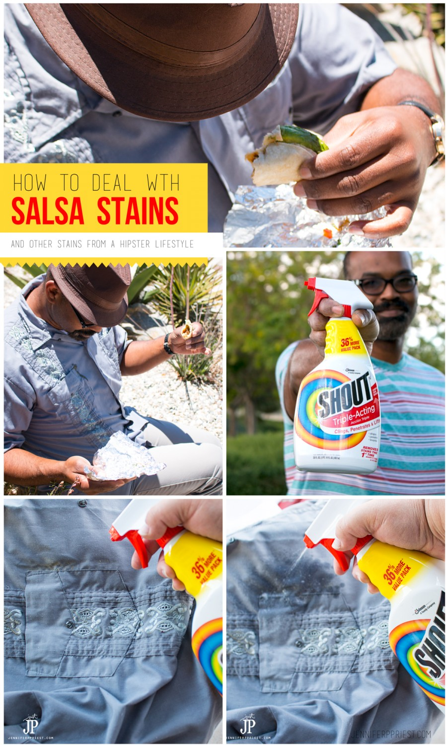 how to deal with stains jennifer priest