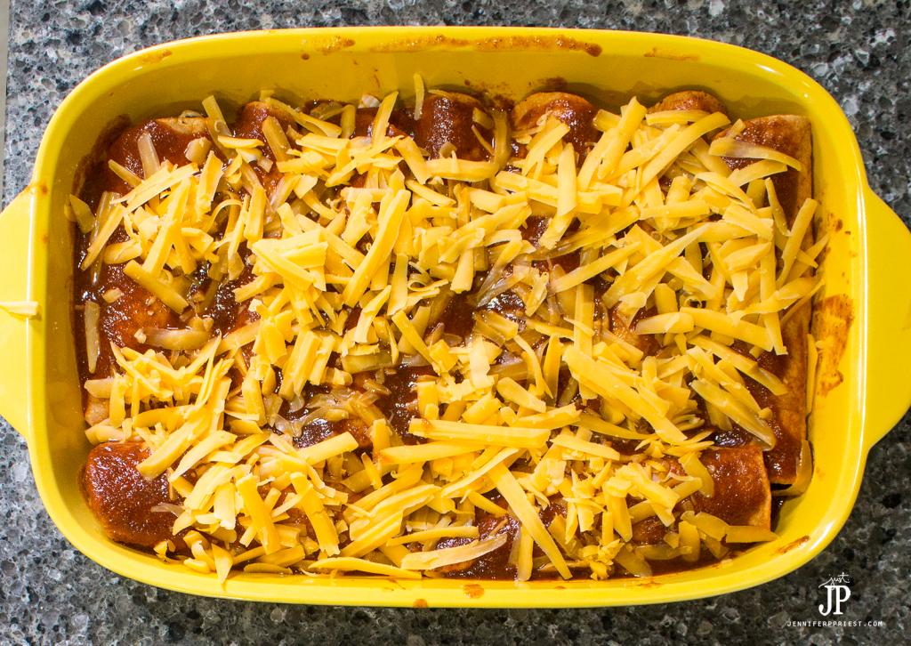 rolled chicken enchiladas recipe