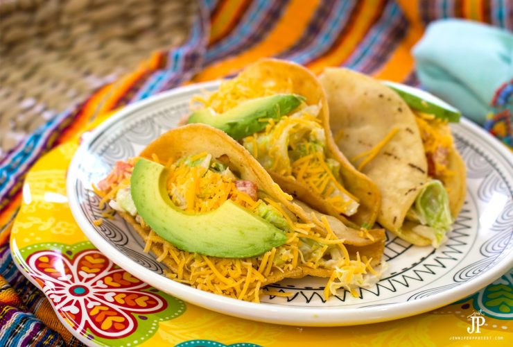 The best ground beef tacos - ground beef potato taco recipe! Get the recipe and tutorial at jenniferppriest.com #SaboreaTuVerano sponsored by Knorr and Walmart via Mirum Shopper