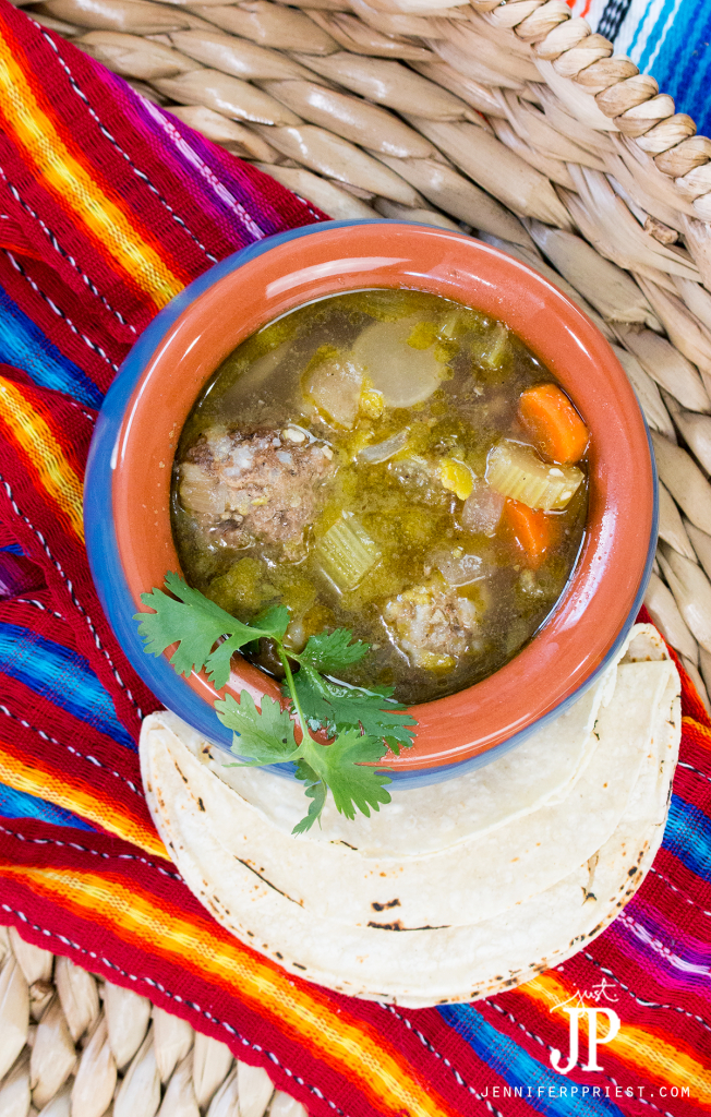 Homemade-Albondigas-Soup-with-Knorr bouillon