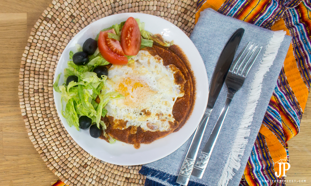 flat enchiladas recipe