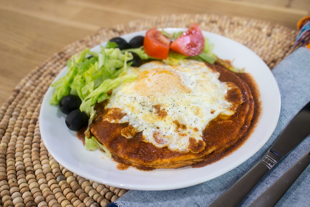 how to make New Mexico enchiladas