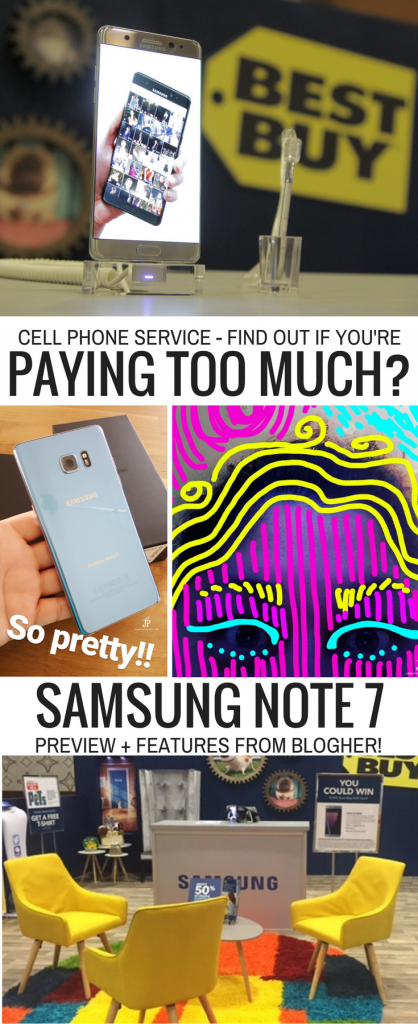 Best Buy Mobile Plan and Compare Tool - find out if you are paying too much for cell service PLUS a look at Samsung Galaxy Note 7 NEW PHONE!