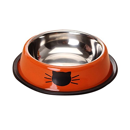 wet cat food weighted bowl